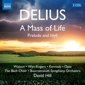 Cover picture A Mass of Life/Prelude and Idyll