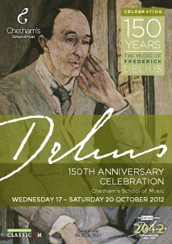 Poster DELIUS 150TH ANNIVERSARY CELEBRATION
