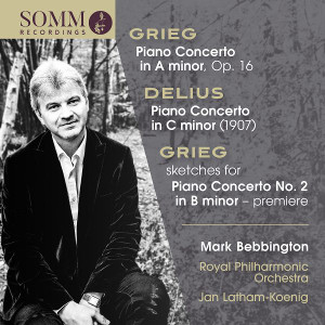 Grieg and Delius Piano Concertos (SOMMCD 269)