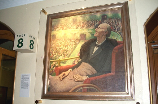 Photograph - Painting of Delius